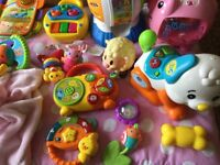 Quality baby toys in excellent condition, vetch, fisher price, leap frog