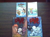 Divers livres en francais