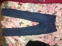 Top shop womens jeans