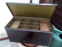 tool box heavy lockable metal