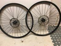 27.5 MTB wheels Shimano deore hubs