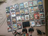 Ps2 console 31 games 2 controllers
