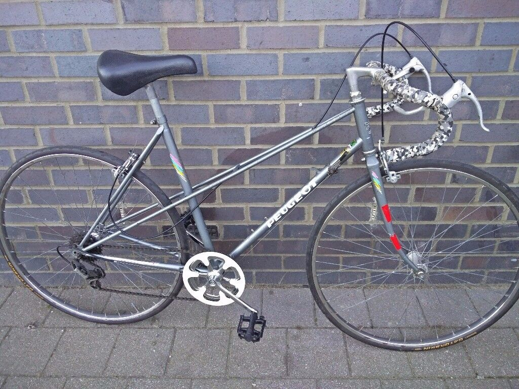 classic peugeot road bicycle 53 cm lightweight mixte frame new gatorskin tyres ready - Mixte Frame
