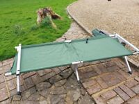 Halfords Single folding camping beds