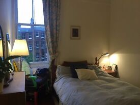 Lovely bright double bedroom in shared quiet flat in Marchmont £425 pcm