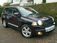 2008 JEEP COMPASS 2.0CRD*LIMITED EDITION*FSH*LEATHER*H/SEATS*#SUV#LANDROVER#X-TRAIL#CRV