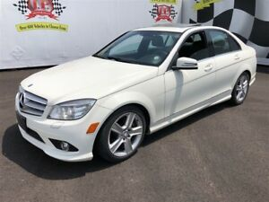 2010 Mercedes-Benz C-Class 300, Automatic, Leather, Sunroof, AWD