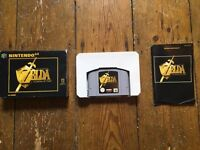 LEGEND OF ZELDA: OCARINA OF TIME (Boxed with instructions) for NINTENDO 64