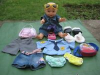 Baby Doll 45 cm Tall with Clothes and Lots of Accessories for £10.00