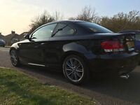 BMW 123D Black