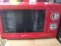 Red/black microwave