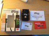 IK Multimedia iRig Stomp
