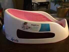 Angel Care baby support in pink.
