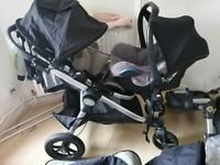 Baby Jogger City Select Pushchair (Double)