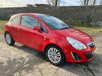 2011 VAUXHALL CORSA 1.2 3DR EXCITE🔥FREE WARRANTY🔥FIRE RED🔥65K!🔥FINANCE AVAILABLE!ford,Citreon