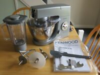 Kenwood Food Processor with attachments