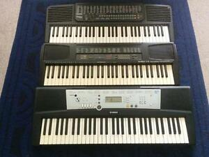 ELECTRIC PIANOS X3!