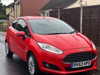 2013 FORD FIESTA TITANIUM 1.0 ECO BOOST 3DR - ONLY 21400 MILES - 1 YEARS MOT - TAX FREE