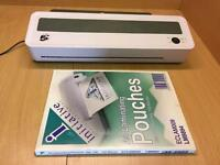 A3 & A4 Laminator with 100X pouches
