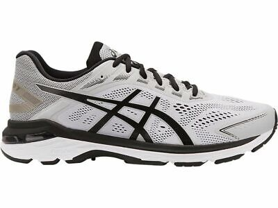 2 Pairs Asics 1011A158 021 GT 2000 7 Mid Grey Black Men's Running Shoes LE