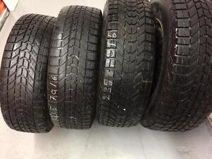 4 Firestone winter tires:235/70R16