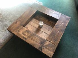 Reclaimed Sleeper Coffee Table