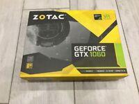 Zotac NVIDIA GeForce GTX 1060 6GB Mini ITX