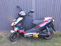Baotian falcon 50cc r full logbook mot two keys £495 ono
