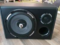 500w Peiying subwoofer with built in amp with all wire's included