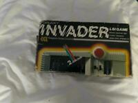 Retro Collectible handheld computer game GALAXY INVADER LSI GAME