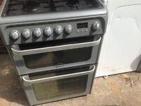 Hot point gas cooker 60cm..Free delivery