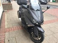 Yamaha XP 500 TMAX 530 cc Matt black 12 plate immaculate hpi clear!!