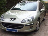For sale , 2007 Peugeot 407 estate sw se 2.0hdi