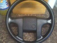 *** Mk2 Vw Golf GTI 90 Spec Steering Wheel *** £40