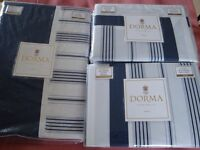 Dorma Curtains, Matching Bed Linen and Quilt - Unused