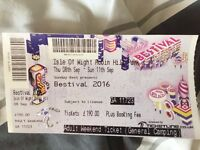 BESTIVAL 2016 - 1 full adult weekend camping ticket