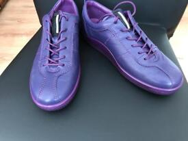 Ladies ECCO Trainers Size 5 (eur 38), New Without Box. RRP £80