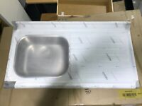 Armitage Shanks Doon Sink Stainless Steel Commercial Right Hand Drainer
