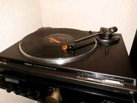 Technics SL-BD21 Turntable. Record player vinyl. Sony project thorens