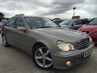 2005 - 55 Mercedes C220 CDI - Avantgarde - 114k Miles - S/H- Leather interior - Semi Automatic -