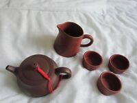 Chinese tea-pot and cups kit