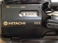 HITACHI 2300E Vhs Camcorder & Video Player, in Excellent Almost New Condition.Swiches on. Untested