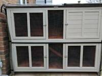 Rabbit Hutch and thermal cover
