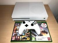 Xbox One S White GTA V, Forza Horizon 3