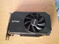 EXCELLENT 1440P Capable Zotac GTX 960 ITX 2GB Graphics Card,RRP £180, LIKE NEW, £140 NO OFFERS