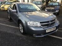 09/59 DODGE AVENGER 2LT TURBO DIESEL 6 SPEED MOT MAY 2019 £1995