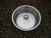 Round Sink - 43cm diameter - with plug