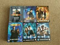 Doctor Who Box Set DVD's Series 1 - 6