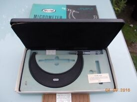Moore & Wright Micrometer 125 - 150 mm