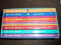 roald dahl book collection - 10 books - childrens
